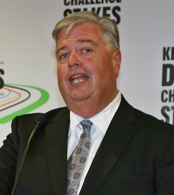 John Asher of Churchill Downs