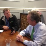 Getting the scoop from Mayor Fischer