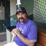Corky Miller of the Louisville Bats