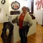 MaLynda Paulsen in her new shop