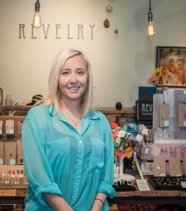 Mo McKnight Howe at Revelry. Bill Brymer photo.