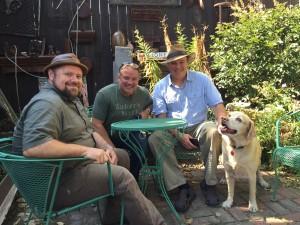 Bar Guys, and Dog