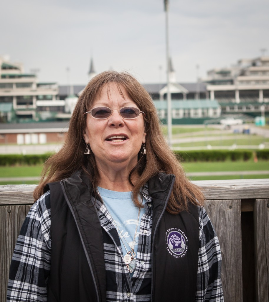 Jennie Rees is getting ready to enjoy her first Derby without a deadline. Photo by Bill Brymer