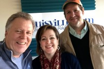 In the Louisville.am studio with Jackie Bentley and Bill Brymer