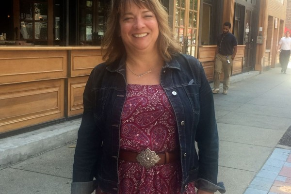 Linda Ruffenach on Whiskey Row