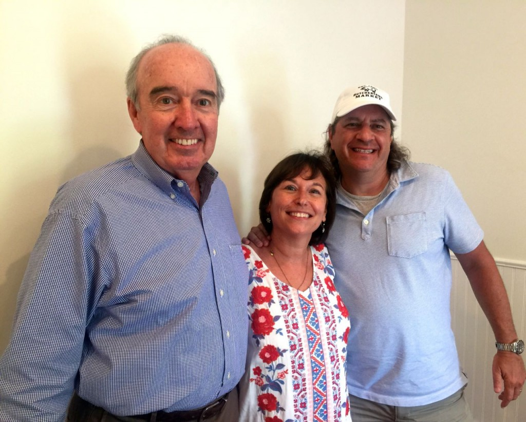 Mike Mountjoy, Linda Schuster and Andy Blieden